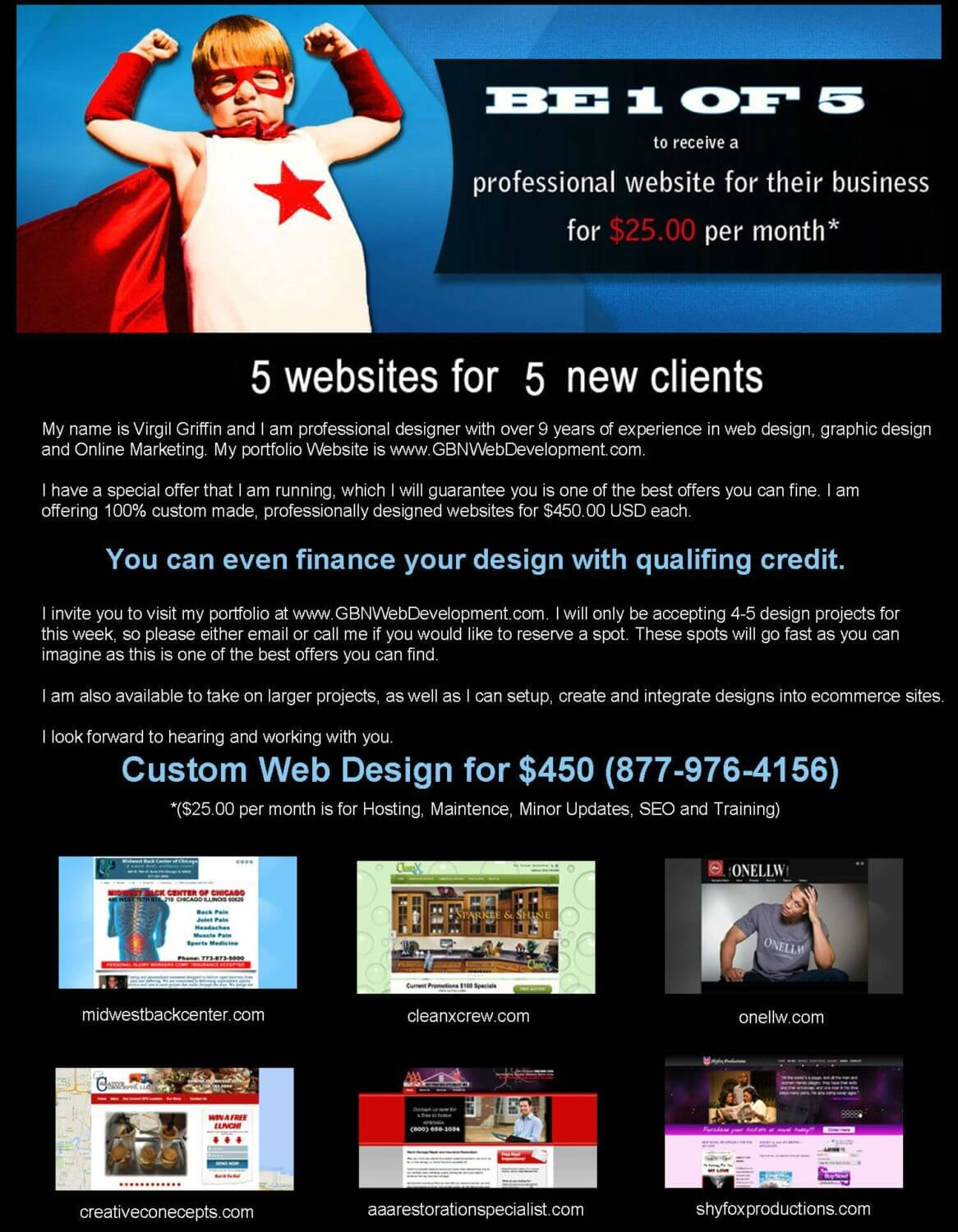 Web design Special by GBN Web Development